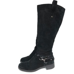BJORNDAL Hobson Black leather riding boots- 8.5